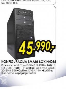 Konfiguracija Smart Box N4055