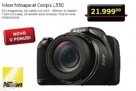 Digitalni fotoaparat Coolpix L330