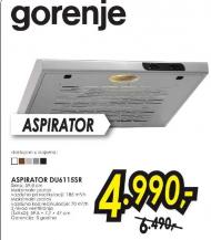 Aspirator DU6115B