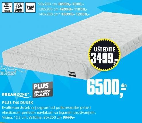 Dušek Plus F40 80x200