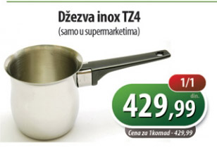 Džezva inox TZ4