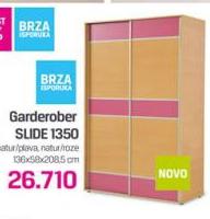Garderober slide 1350, dečija soba