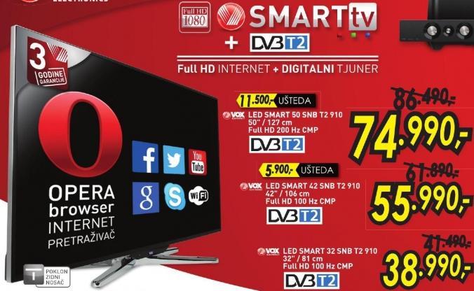 """Televizor LED32""""  32 Snb T2 910"""
