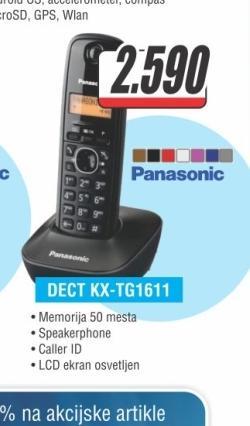 Telefon Fiksni KX-TG1611FXH