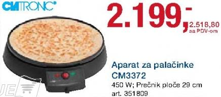 Aparat za palačinke Cm3372