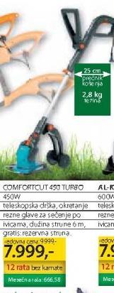 Električni Trimer Comfortcut 450 Turbo