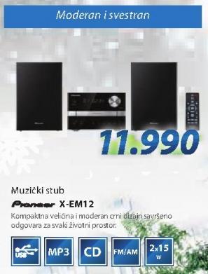 Muzički stub X-EM12