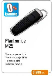Bluetooth slušalica M25