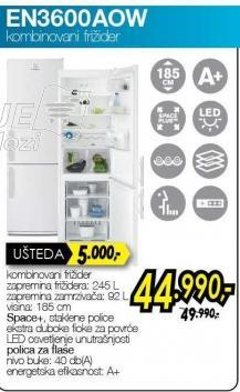 Kombinovani frižider En3600aow
