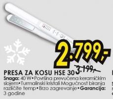 Presa Za Kosu HSE 30