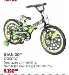 """Biciklo Gian 20"""""""
