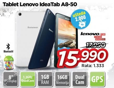 Tablet IdeaTab A8-50