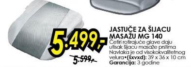 Jastuče za šijacu masažu Mg 140