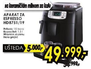Aparat za espresso Hd 8751/19