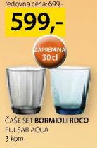 Čaše Bormioli Roco Pulsar Aqua
