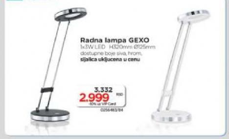 Radna lampa Gexo