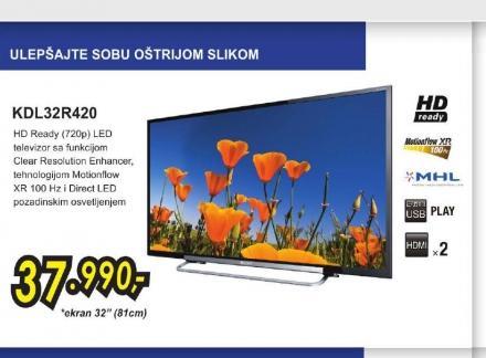 Televizor LED KDL-32R420ABAEP