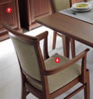 Stolica sa rukonaslonima  EKRS P