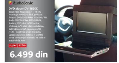 DVD player DV-1820K