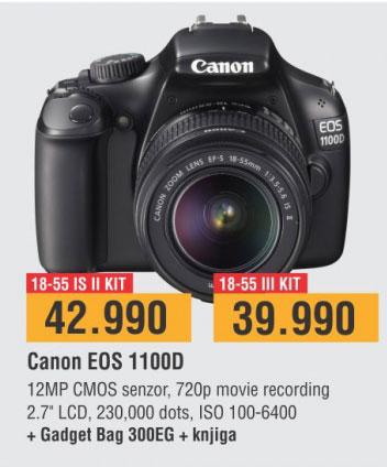 Digitalni Fotoaparat EOS1100D 1855DC III