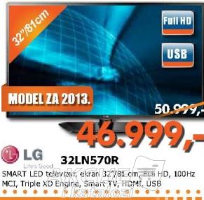3D LED Televizor 32LN570R