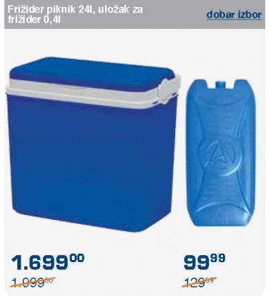 Uložak za frižider 0,4l