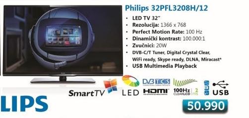 LED LCD 32Pfl3208H/12 Televizor
