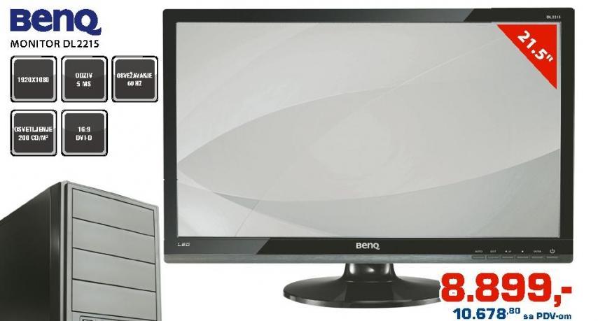 """Monitor 21,5"""" Dl2215"""