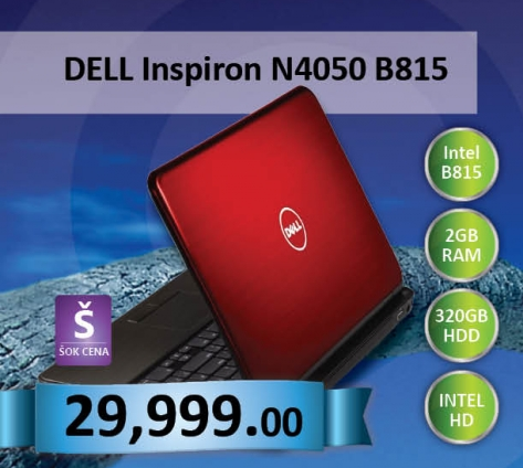 Inspiron N4050 Red
