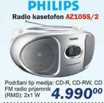 Radio kasetofon AZ105S/2