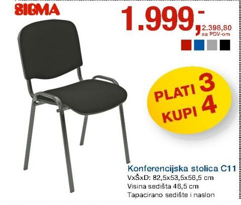 Stolica - konferencijska C11