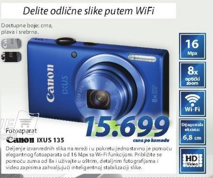 Digitalni fotoaparat Ixus135