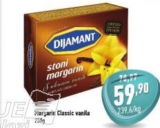 Stoni margarin sa vanilom
