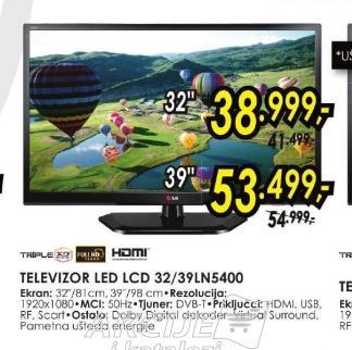 Televizor LED 39LN5400
