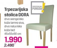 Trpezarijska stolica Dora