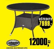Baštenski sto Andria