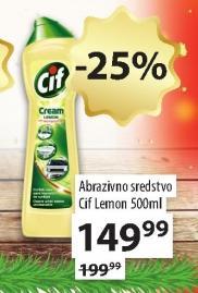 Abrazivno sredstvo za čišćenje Lemon