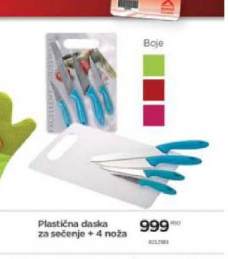 Plastična daska za sečenje