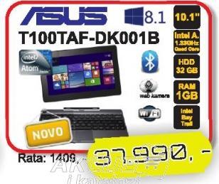Laptop Transformer Book T100TAF-DK001B