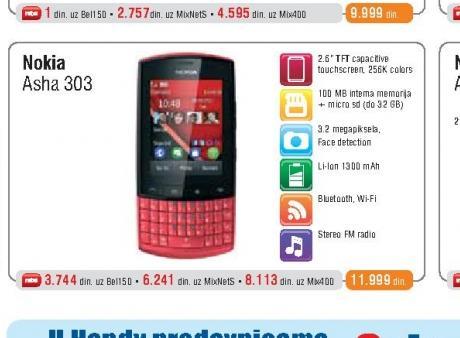 Mobilni Telefon  303 Asha