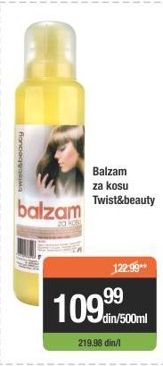 Balzam Za Kosu Twist&beauty