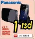 Telefon 2u1 Panasonic