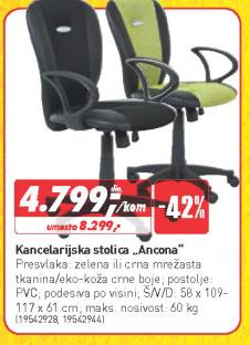 Kancelarijska stolica Ancona