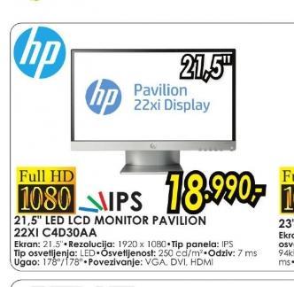 Monitor Pavilion 22xi C4D30AA
