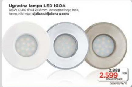 Ugradna lampa LED Igoa