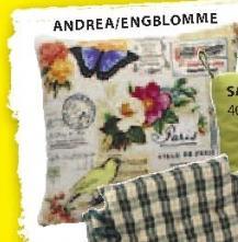 Ukrasni jastuk Andrea, Engblomme