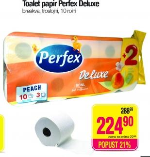 Toalet papir 3sl breskva