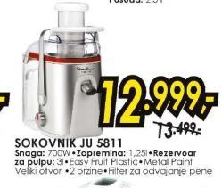Sokovnik JU5811
