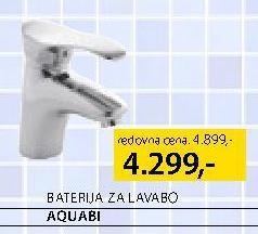 Baterija za lavabo Aquabi