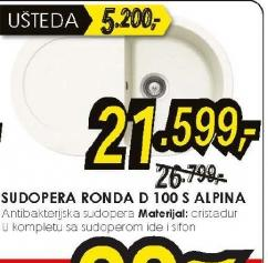 Sudopera RONDA D 100 S ALPINA
